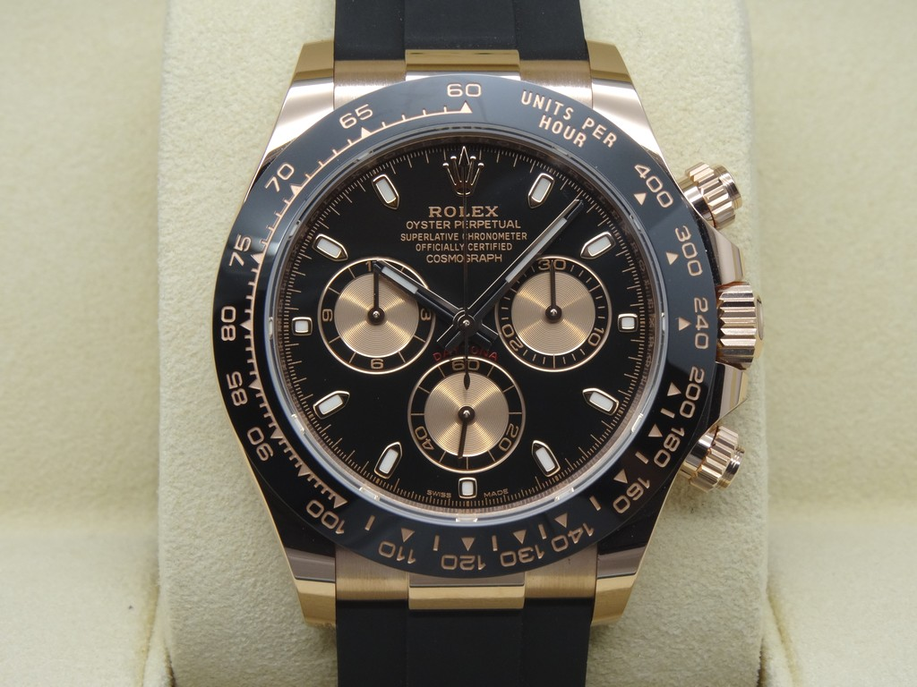 fsot rolex daytona 116515ln oysterflex ceramic bezel. Black Bedroom Furniture Sets. Home Design Ideas