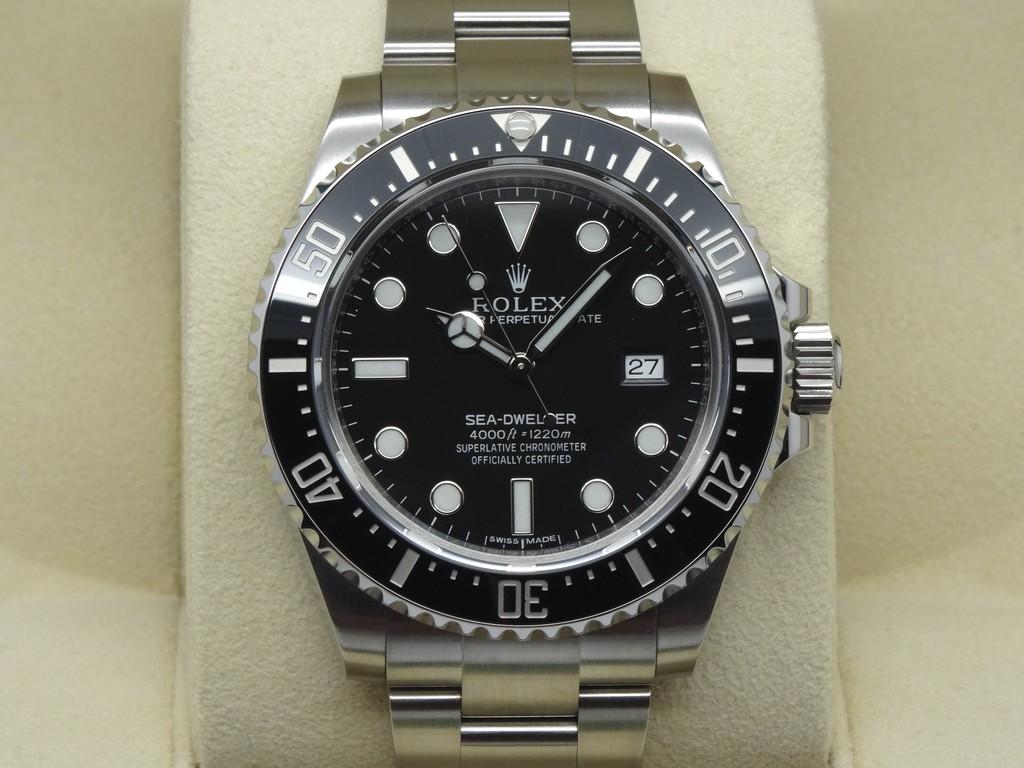 b4a76be170f FSOT: Rolex Sea-Dweller 4000 SD4K 116600 Mint Unpolished Complete Set July  2016 WARRANTY